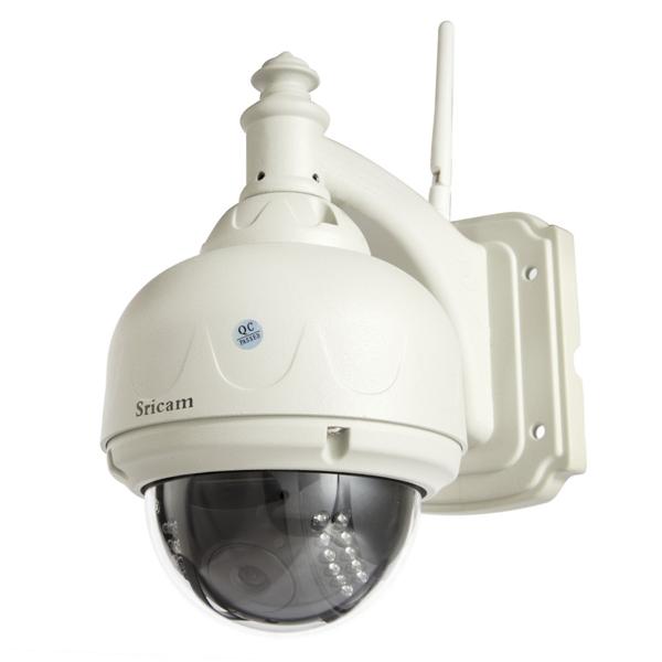 Sricam AP006 P2P PNP drahtlose Wifi Outdoor Überwachungskamera PTZ Sicherheitssystem & Überwachung
