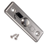 Stainless Steel Switch Panel Door Exit Push Button Access Control Security System & Protection