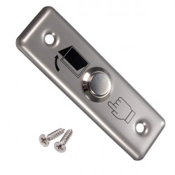 Stainless Steel Switch Panel Door Exit Push Button Access Control