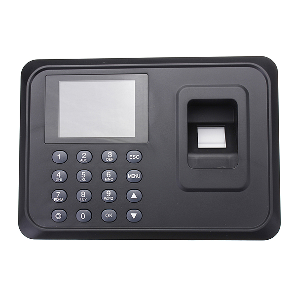 USB TCP/IP Password Fingerprint  Time Attendance Clock Time Recorder Security System & Protection