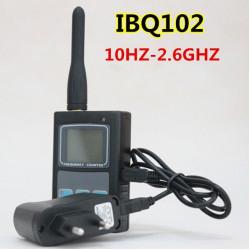 Verbesserte IBQ102 Two Way Radio Frequency Counter 10MHz 2.6GHz