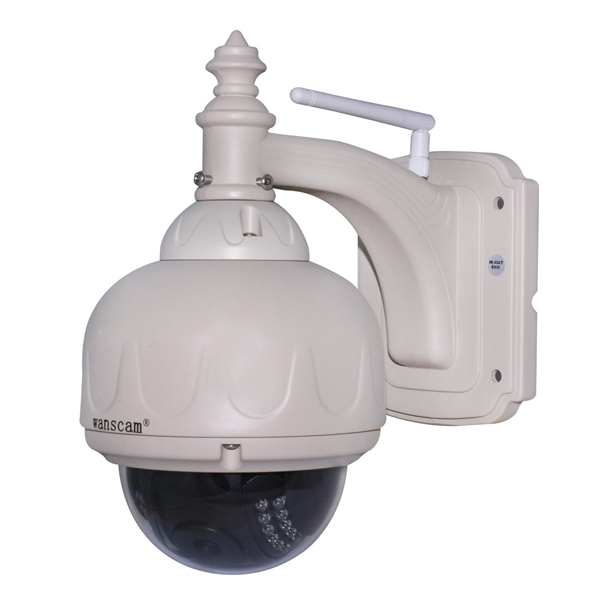 Wanscam HW0038 1,0 Mega Pixel 720P HD IR Cut WiFi CCTV IP Überwachungskamera Sicherheitssystem & Überwachung