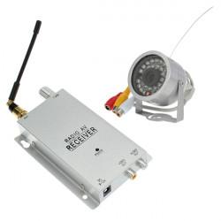 Waterproof 1.2G Night Vision Video Audio Wireless IR Security Camera