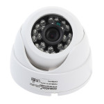 White 1/4 CMOS 139+8510 IR-CUT 800TVL Security Camera L2381DH Security System & Protection