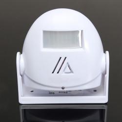 White Willkommen Spiel Bewegungs Sensor Warnung Türklingel Tür Glocke Alarm