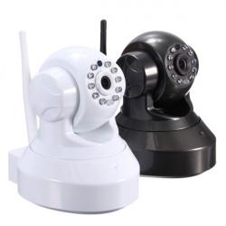 Wireless 720P Wifi Remote Two-way Audio IR Pan/Tilt IP Security Camera