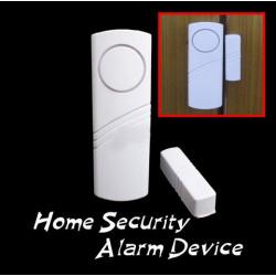 Trådlös Dörr Fönster Magnetkontakt Sensor för Inrikes Säkerhet