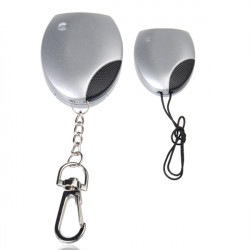 Wireless Portable Anti Lost Theft Safety Security Alarm Keychain Set