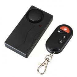 Drahtlose Fernbedienung Vibrationsalarm Detektor Home Security Alarm
