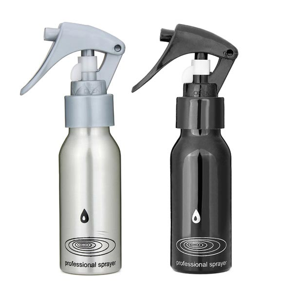 100ML Aluminum Watering Spray Bottle Hairdressing Tool Hair Care & Salon