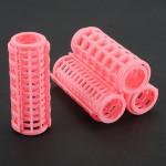 10pcs Pink hair curler roller hair salon tool DIY HOT Hair Care & Salon