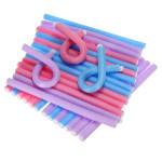 12mm Bendy Twist Benders Hairdressing Foam Hair Rollers Curlers Hair Care & Salon