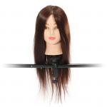 60% Echt Friseursalon Braun Haartrainings Mannequin Kopf Clamp Haarpflege & Salon