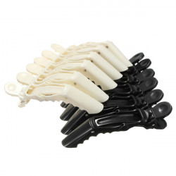 6Pcs Crocodile Hair Clips Hairdressing Tool Clamps