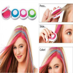 Ein Set aus 4 Farben Haar Kreide Haarfärbung Werkzeuge