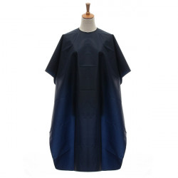 Blue Waterproof Adults Salon Hair Cutting Cloth Hairdressing Cape