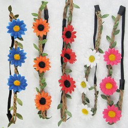 Boho Style Blumen Blumen Festival Strand Partei Hairband Stirnband