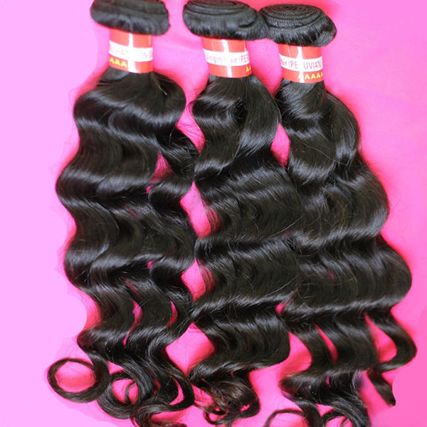 Brazilian Big Loose Wave Virgin Real Human Hair Piece Extension Hair Care & Salon