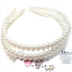 Bridal Hair Jewelry Pearl hair hoop Hair Clasp Head Accessories