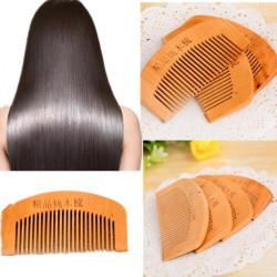Hair Care Antistatic Natural Mahogany Comb Mini Size