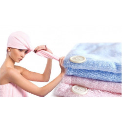 Lady Magic Soft Microfiber Hår Fast Drying Towel Hat