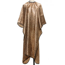 Leopard Mønster Salon Frisør Nonstick Hår Cape Haircut Cloth