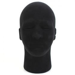 Man Styrofoam Skum Skylt Manikin Huvud Stand Modell Display Peruker