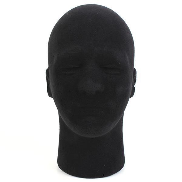 Male Styrofoam Foam Mannequin Manikin Head Stand Model Display Wigs Hair Care & Salon