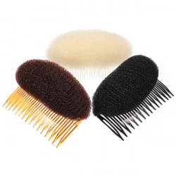 New Ladies Hair Stylish Volume Bouffant Beehive Shaped Interposing Comb