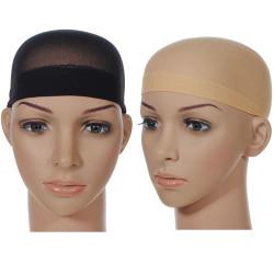 Polyester Stocking Wig Cap Elastic Liner Mesh