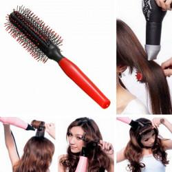 Salon Styling Verkleidung Curly Kamm Runde Haarbürste