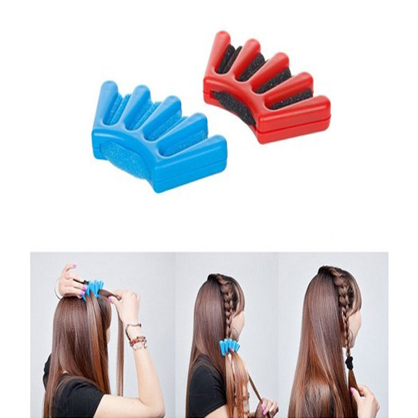 Sponge Hår Braider Hair Flätningsmaskin Franska Braider Hair Tool Hårprodukter