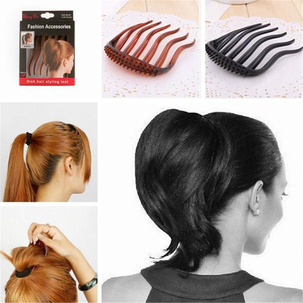 Volume Fügt Haarspange Bumpits Kamm Mode Accessoires Haarpflege & Salon