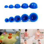 12Pcs Cups Rubber Massage Relaxation Suction Cupping Therapy Set Health Care