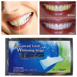 2 Packs Tandblegning Strips Hjem Dental Blegning Hvidere