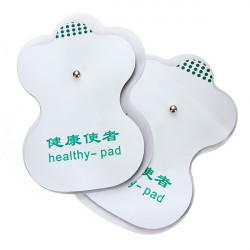 2 Paar Zehn Adhesive Elektroden Auflagen für die Akupunktur Digital Therapie