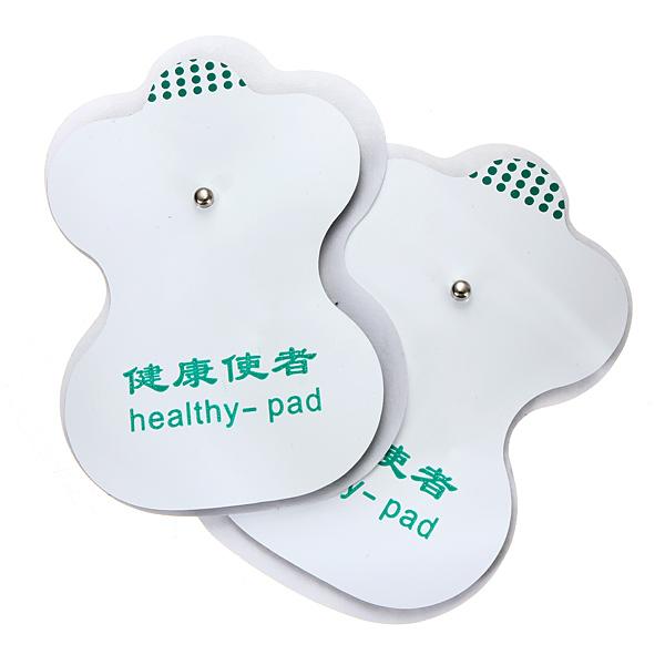 2 Pair Tens Självhäftande Elektroder för Akupunktur Digital Therapy Hälsa