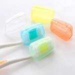 5pcs Travel Toothbrush Head Covers Case Brush Cap Protecter Health Care