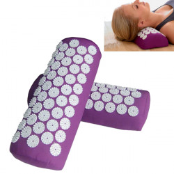 Acupuncture Massage Mat Yoga Neck Shoulder Massager Pillow