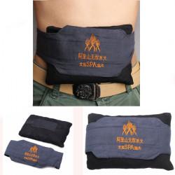 Alishan Belly Waist Terapi Moxibustion Salt Belt Massage