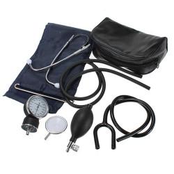 Aneroidt Adult Blodtryksapparat Meter Blodtryksmaaler Sæt