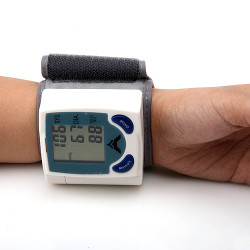 Digital Sphygmomanometer Blood Pressure Monitor & Heart Beat Meter