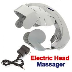 Elektrisk Huvud Massering Brain Massage Koppla Acupuncture Points