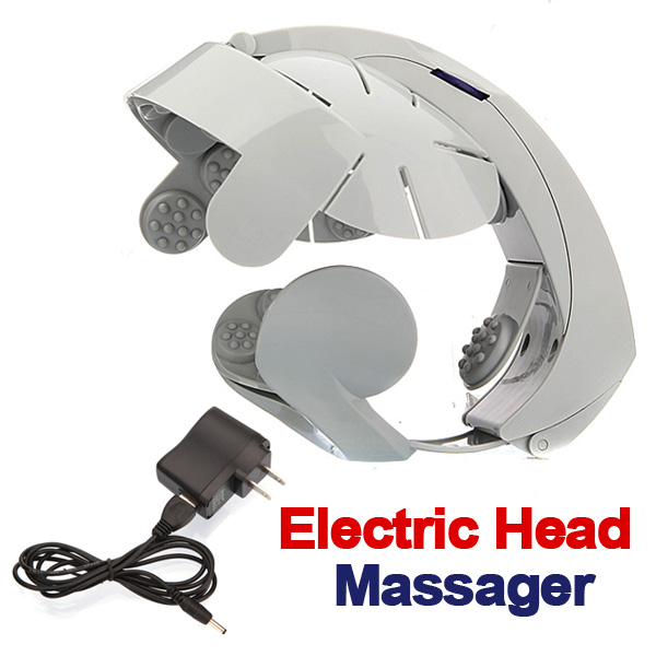 Elektrisk Huvud Massering Brain Massage Koppla Acupuncture Points Hälsa