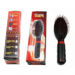 Electric Vibrative Hair And Body Massager Comb Brush