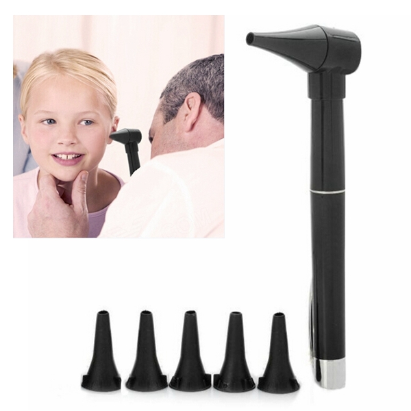 Penna Style Professionell Ear Care Otoskop Auriscope Diagnostisk Set Hälsa