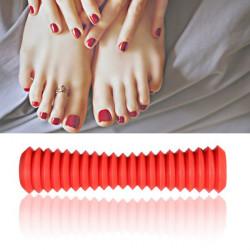 Plast Ease Midja Tillbaka Ben Roller Relief Stress Fotmassage Stick