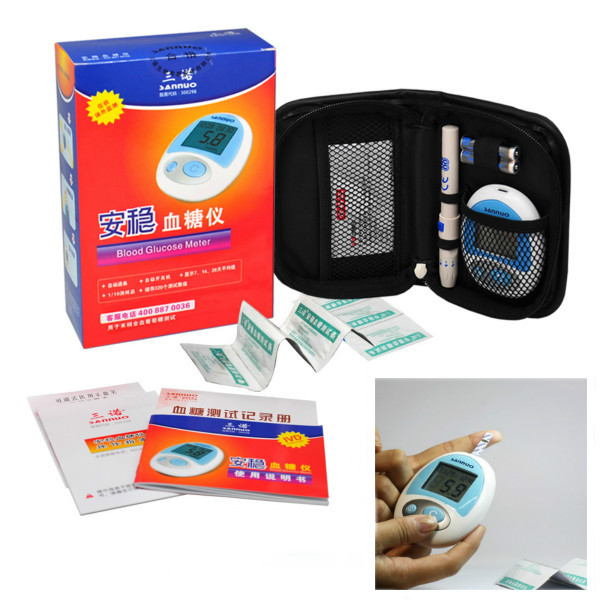 Sannuo SXT Blood Glucose Meter Glucometer Monitoring System Health Care