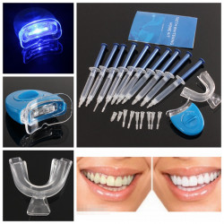 Tänder Whitener Tandblekning Blekning Kit Dental Gel peroxid