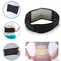 Turmalin Far Infrared Ray Själv Uppvärmning Health Waist Belt Support Strap